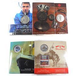 2011 Rick Hansen 25th Anniversary Relay Medallion, 2012 R.M.S Titanic 25-cent & 2012 Canada 25-cent