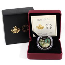 2017 Canada $20 Under the Sea - Seahorse Fine Silver Coin (TAX Exempt)