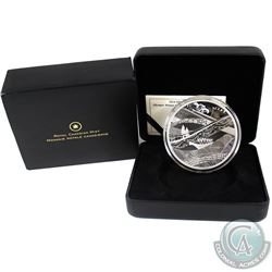 2010 Canada $50 Olympic Winter Games - The Look of the Games 5oz Fine Silver Coin (light scratch on