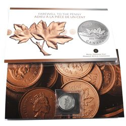2012 Canada $20 Farewell to the Penny Coin issued by the Royal Canadian Mint (TAX Exempt)