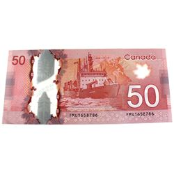 2012 Bank of Canada Replacement Insert Note $50, Macklem-Carney S/N: FMU1658786. Note in UNC!