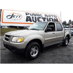 F4 --  2005 FORD EXPLORER SPORT TRAC , Brown , 241874  KM's