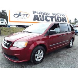 D6 --  2011 DODGE GRAND CARAVAN EXPRESS , Red , 111385  KM's
