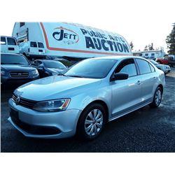 C4 --  2011 VW JETTA  , Grey , 220701  KM's