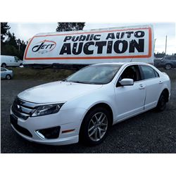 C5 --  2010 FORD FUSION SEL , White , 144619  KM's