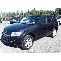 K1 -- 2009 SUZUKI GRAND VITARA XSPORT SUV, BLACK, 169,219 KMS