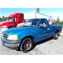 K3 --  1998 FORD F150  , Blue , 286832  KM's