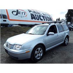 D2 --  2005 VW JETTA GLS TDI  , Silver , 255252  KM's