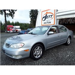 A12A --  2001 INFINITI I30 , Grey , 240294  KM's