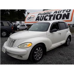 A6 --  2003 CHRYSLER PT CRUISER LTD , Grey , 129611  KM's