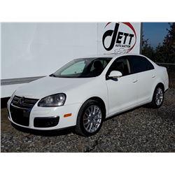 "A12F --  2009 VW JETTA SEDAN, WHITE, 232,565 KMS ""NO RESERVE"""