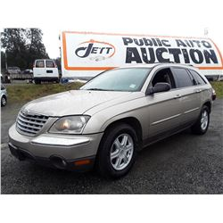 C3 --  2004 CHRYSLER PACIFICA  , Brown , 212830  KM's