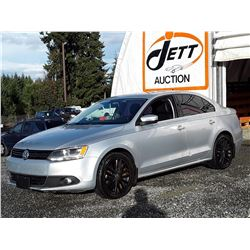 B3 --  2012 VW JETTA SEL , Silver , 173372  KM's
