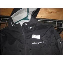 Large WESTJET BLACK JACKET