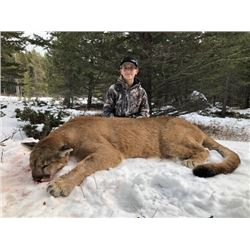 Alberta Resident Youth - Female Cougar Hunt