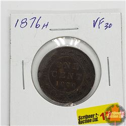 Canada Large Cent : 1876H