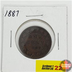 Canada Large Cent : 1887