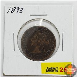 Canada Large Cent : 1893