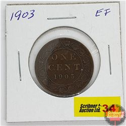 Canada Large Cent : 1903