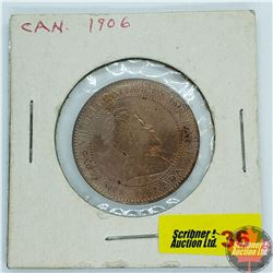 Canada Large Cent : 1906
