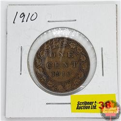Canada Large Cent : 1910