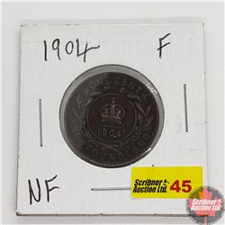 Newfoundland Large Cent 1904