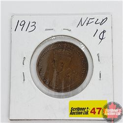 Newfoundland Large Cent 1913