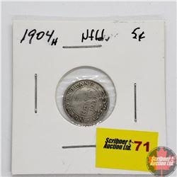 Newfoundland Five Cent 1904H
