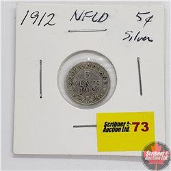 Newfoundland Five Cent 1912