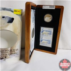 RCM The Proud Polar Bear $2 Limited-Edition Stamp & Coin Set