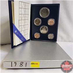 Canada Specimen Set : 1981