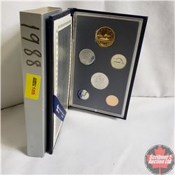 Canada Specimen Set : 1988