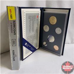 Canada Specimen Set : 1992