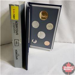Canada Specimen Set : 1994