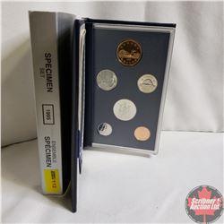 Canada Specimen Set : 1995