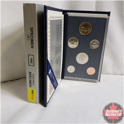 Canada Specimen Set : 1996