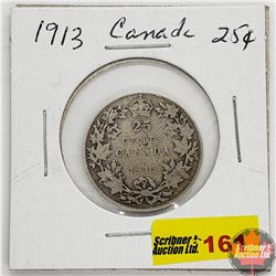 Canada Twenty Five Cent 1913