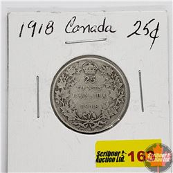 Canada Twenty Five Cent 1918
