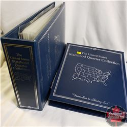 USA Statehood UNC Quarter Collection Plus Territories, Commonwealth Countries & District, Vol 1 & 2
