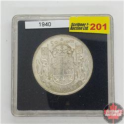 Canada Fifty Cent 1940 (In Quadrum)