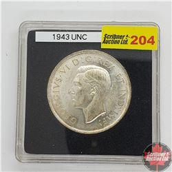 Canada Fifty Cent 1943 (In Quadrum)
