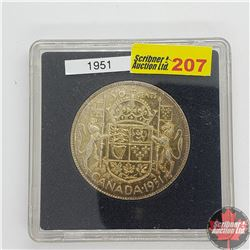 Canada Fifty Cent 1951 (In Quadrum)