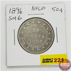 Newfoundland Fifty Cent 1896 Small 6