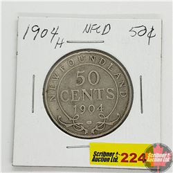 Newfoundland Fifty Cent 1904H
