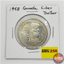 Canada Silver Dollar 1958