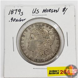 US Morgan Dollar 1879S