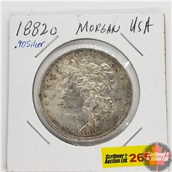 US Morgan Dollar 1882O
