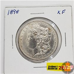 US Morgan Dollar 1898