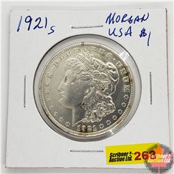 US Morgan Dollar 1921S