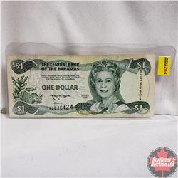 1996 Bahamas $1 Note